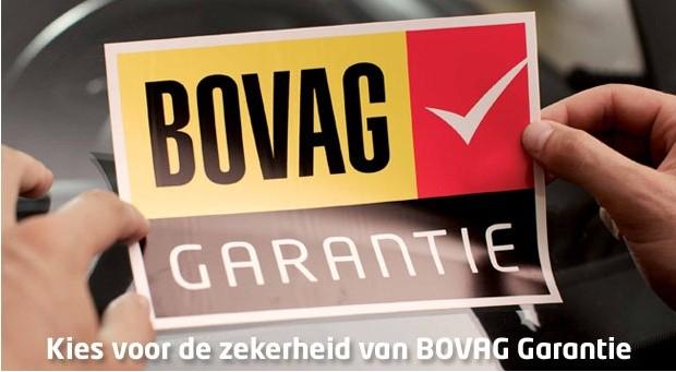 Auto kopen met Bovag Garantie! Auto's-Minimaal 6 maanden garantie op aankoop gebruikte auto's (bij een koopprijs van minimaal € 4.500). -3 maanden garantie op reparatie en onderhoud.