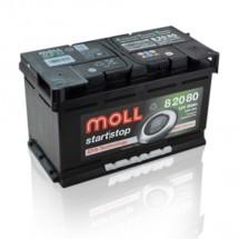 Moll EFB 80Ah Accu
