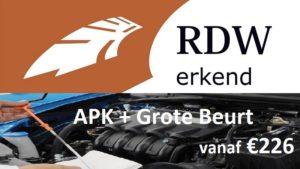 APK + Grote Beurt vanaf €226