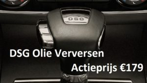 DSG Olie verversen Amsterdam centrum Garagebedrijf Amsterdammertje DSG Olie Verversen Actieprijs €179
