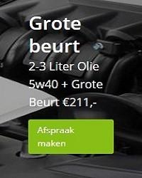 Grote beurt 5w40 olie kostenkosten. Amsterdam.Garage 't Amsterdammertje