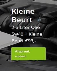 kleine-beurt-5w40-olie.kosten.Amsterdam.Garage 't Amsterdammertje